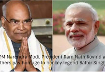 PM Narendra Modi, President Ram Nath Kovind and others pay homage to hockey legend Balbir Singh Sr.