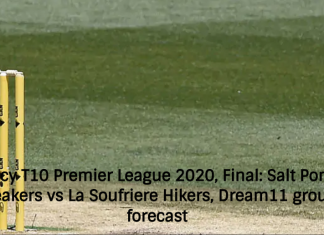 Vincy T10 Premier League 2020, Final: Salt Pond Breakers vs La Soufriere Hikers, Dream11 group forecast