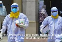 5.5 Lakh Coronavirus Cases could increase In Delhi by July 31: AAP Govt Manish Sisodia