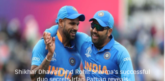 Shikhar Dhawan and Rohit Sharma's successful duo secrets Irfan Pathan reveals