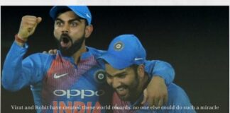 Virat and Rohit have created these world records, no one else could do such a miracle
