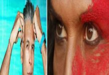 Milind soman Third gender look
