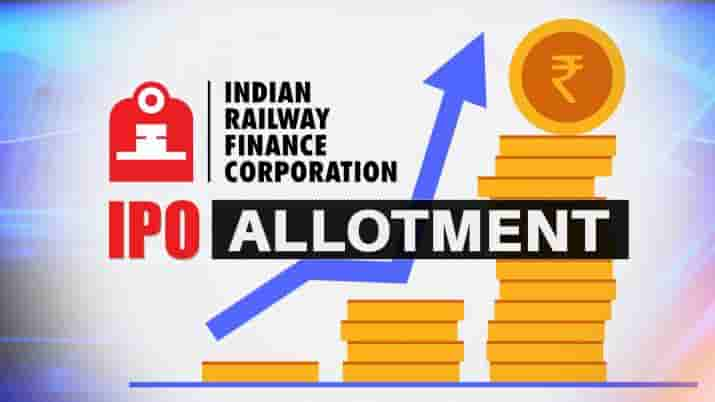IRFC IPO allotment date