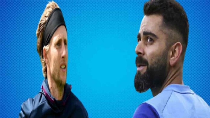 Virat Kohli Joe root India vs England first-test-match update